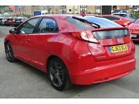 2013 Honda Civic 1.8 i-VTEC Ti 5dr Manual Petrol Hatchback