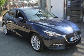 2017 Mazda 3 2.0 Sport Nav 4dr Manual Petrol Saloon
