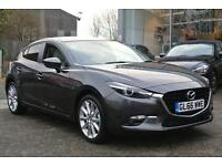 2016 Mazda 3 2.2d Sport Nav 5dr Auto (Leath Automatic Diesel Hatchback