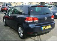 2010 Volkswagen Golf 1.6 TDi 105 Match DSG Automatic Diesel Hatchback