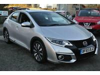 2015 Honda Civic 1.8 i-VTEC SE Plus 5dr Manual Petrol Hatchback