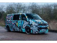 Vw T5 lwb Campervan, one off magazine featured! low millage swap fast car/ harley??