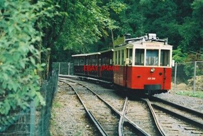 PHOTO  2002 BELGIUM TRAM HAN-SUR-LESSE  TRAM NO  AR 159