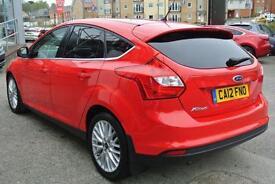 2012 Ford Focus 1.0 125 EcoBoost Zetec 5dr Manual Petrol Hatchback
