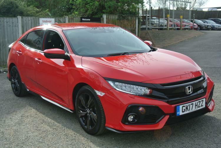 2017 honda civic 1 5 vtec turbo sport 5dr manual petrol. Black Bedroom Furniture Sets. Home Design Ideas