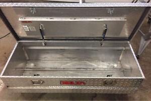 DELTA Diamond Plate Truck Box - Between Rails