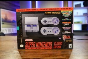 SNES Classic Genuine - Modded with Games