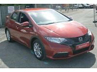 2013 Honda Civic 1.8 i-VTEC S Automatic Petrol Hatchback