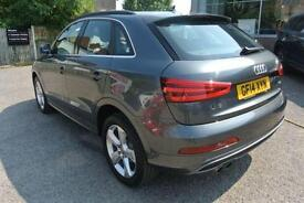 2014 Audi Q3 2.0 TDI (177) S Line 5dr Manual Diesel Estate