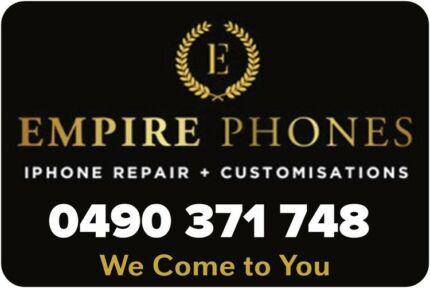 EMPIRE PHONES MOBILE IPHONE REPAIR &IPAD REPAIRS 'WE COME 2 YOU'.
