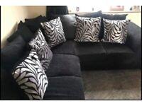 corner sofa with 2 seater sofa
