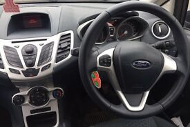 Black Ford Fiesta 5 door. Lady owner. Smoke free