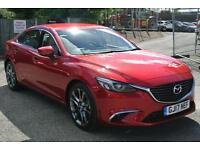 2016 Mazda 6 2.2d (175) Sport Nav 5dr Auto Automatic Diesel Saloon