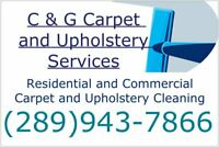 Carpet and Upholstery Cleaning/Outdoor Deck and Patio Cleaning