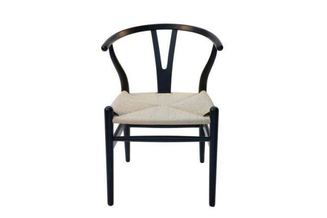 NEW Matt Blatt Hans Wegner Wishbone Chair | Black Ash ...