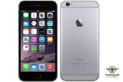 Apple iPhone 6, 64GB Storage, Space Grey, O2 Network - Grade A