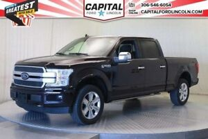 2018 Ford F-150 SuperCrew  * Platinum * New Was $79,379