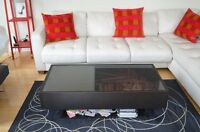 Brand NEW STUNNING real LEATHER Sofa BED couch