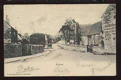 Rutland KETTON Village PPC 1904