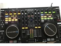 Denon MC6000 Professional Digital Mixer and Controller (MK1) for Drone / PC