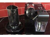 Nespresso Lattissima Coffee Machine & Nespresso pod holder - perfect condition