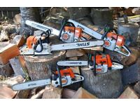 STIHL AND HUSQVARNA TOOLS WANTED