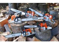 Stihl Chainsaws wanted