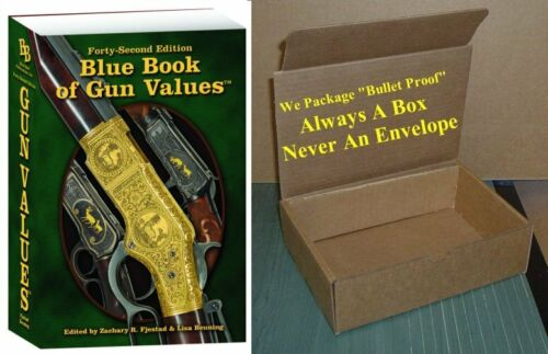 Blue Book of Gun Values 42nd Edition 2021/2022 (In Stock Now)