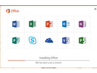 MICROSOFT OFFICE 2016 PRO SUITE for Windows PC
