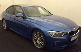 BMW 330d M Sport Auto Leather Upgrade Alloys 2013 FROM £72 PER WEEK!