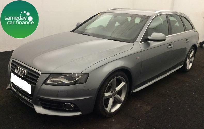 £217.81PER MONTH GREY 2010 AUDI A4 AVANT 2.0 TDI S LINE ESTATE DIESEL MANUAL