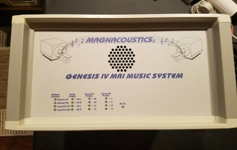 Magnacoustics Genesis IV Communication And Music System For MRI