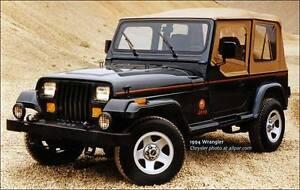 Jeep Wrangler YJ TJ CJ   I have cash ready to buy one