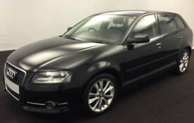 Black AUDI A3 SALOON 1.2 1.4 1.6 1.8 2.0 TDI Diesel SPORT FROM £31 PER WEEK!