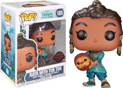 Funko POP! Disney: Raya y el último dragón: Raya con Tuk Tuk Exclusivo