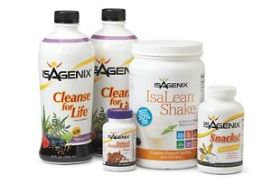 BRAND NEW UNOPENED ISAGENIX 9 DAY CLEANSE LESS THAN WHOLESALE