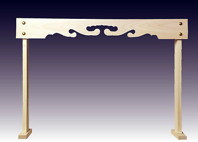 Japan Wood Maku-Ita Frame for Kamidana Household  God House Altar Curtain Small for sale  Shipping to Canada
