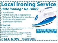 Ironing Services in Leicester