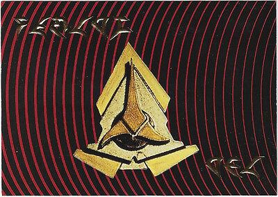TC Star Trek TNG Season 4 S19 Klingon Communicator