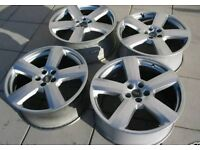 Audi RS4 RS6 RONAL ALLOYS GENUINE GOLF LEON TT VW SKODA SEAT