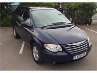 2008 CHRYSLER VOYAGER 2.8 CRD EXECUTIVE BLUE, LOADS OF EXTRAS, 7 SEATS, FULL HISTORY