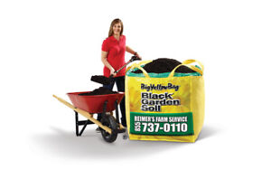 SAVE $10 - BigYellowBag Premium Black Garden Soil