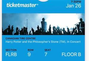 Selling! Harry Potter And The Philosopher's Stone Concert ticket