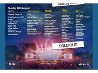 2 x Sunday tickets to SW4