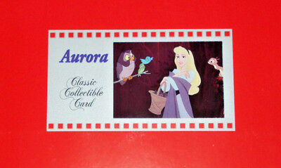 SLEEPING BEAUTY AURORA DISNEY CLASSIC COLLECTIBLE ANIMATION CEL CARD #150 CELL