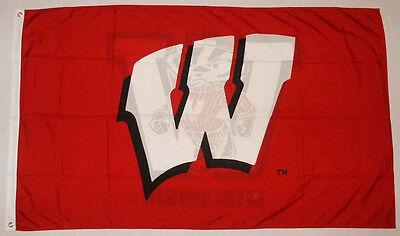 University Of Wisconsin  Badgers 3 X 5 Ncaa College Flag Banner  New