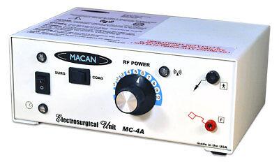 Macan Mc-4a Dental Electrosurge Electrosurgery Unit For Cutting Coagulating