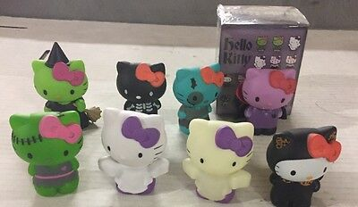 Hello Kitty Funko Mini's, LOT Of 5 Random Blind Box Figures, Halloween Monster - Halloween Kitty Games