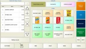 POS Software for restaurant starting at $99.99 - Computer, Touch Screen-