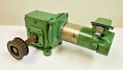 Magnetek Electric Dc Motor 14 Hp Variable Speed With Sterling Gear Box 50 To 1